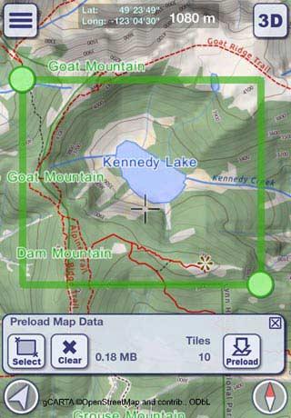 Preload Map Data